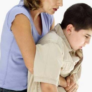 El tragantamiento en niños