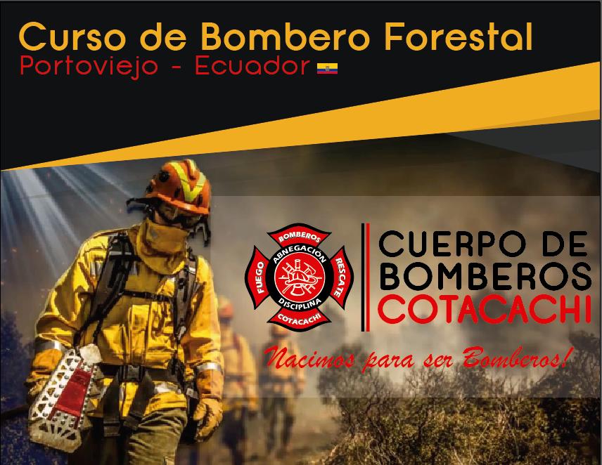 Curso de Bombero Forestal en la ciudad de Portoviejo