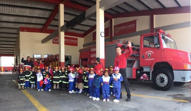 Niñ@s de la Escuela «6 de Julio» visitan nuestra institución