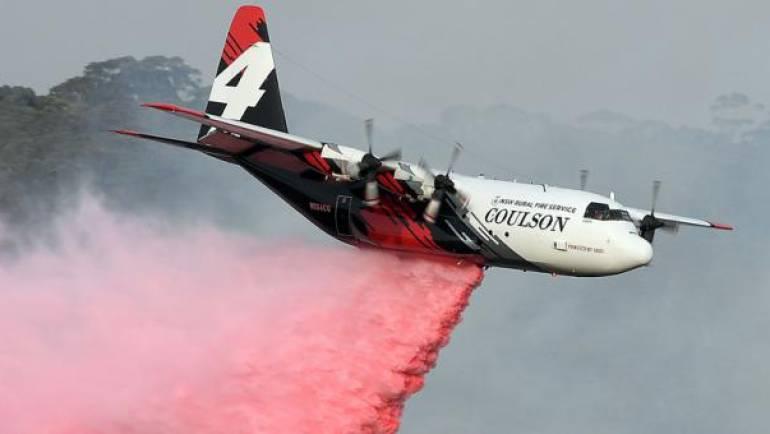 Bomberos estadounidenses mueren al estrellarse su avión en Australia